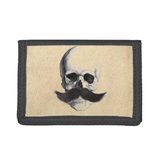 Skull Heads Moustache For Him