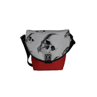 Bone Head Rickshaw Messenger Bag