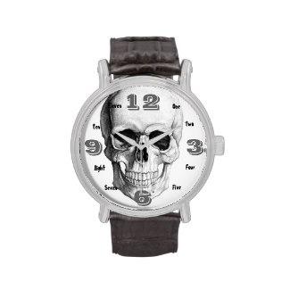 Vintage Skull Watch Fir Him