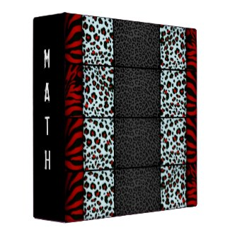 Animal Print Binder for Her