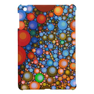 Trippy Circle Pattern Ipad mini case