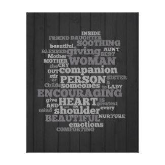What A Women's Worth Canvas