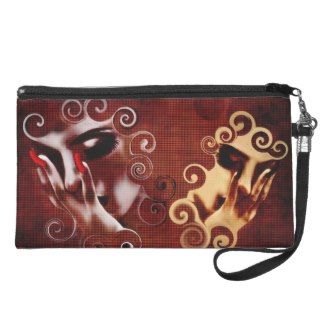 If These Walls Could Talk Unique Wristlet
