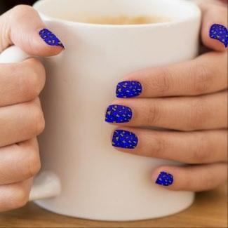 Leopard Print Minx Nails