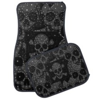 Florescent Animal Print Car Mats